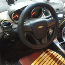 Установка газового оборудования ГБО на Chevrolet Cruze 1,6 Заправочное устройство под лючок бензобака. – фото 2