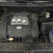 Установка газового оборудования ГБО на Hyundai Santa Fe 2,7 – фото 6