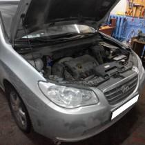 Установка газового оборудования ГБО на Hyundai Elantra 1.6 – фото 5