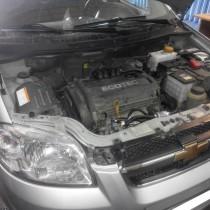 Установка газового оборудования ГБО на Chevrolet Aveo – фото 2
