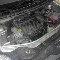 Установка газового оборудования ГБО на Nissan Almera – фото 7
