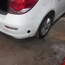 Установка газового оборудования ГБО на Chevrolet Cruze – фото 6