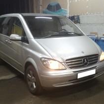 Установка газового оборудования ГБО на Mercedes-Benz Viano 3,2 – фото 6