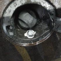 Установка газового оборудования ГБО на Chevrolet Cruze 1,6 Заправочное устройство под лючок бензобака. – фото 4