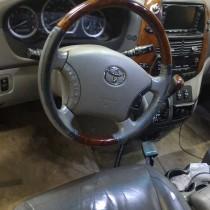 Установка газового оборудования ГБО на Toyota Sienna 3,3 – фото 2