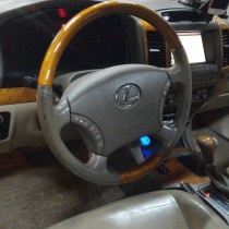Установка газового оборудования ГБО на Lexus GX 470 – фото 2