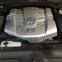 Установка газового оборудования ГБО на Lexus GX 470 – фото 4
