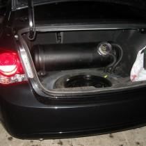 Установка газового оборудования ГБО на Chevrolet Cruze 2012 г.в – фото 5