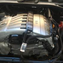 Установка газового оборудования ГБО на Volkswagen Touareg 3.6 FSI – фото 1
