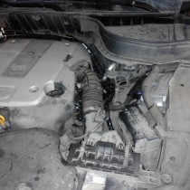 Установка газового оборудования ГБО на Infiniti FX35 – фото 1