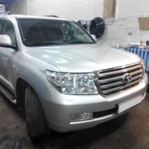 Установка газового оборудования ГБО на Toyota Land Cruiser 200 – фото 6